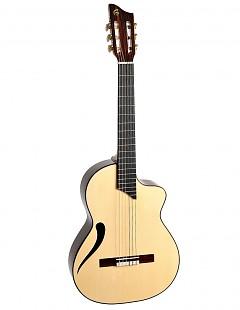 Guitarra clásica con cutaway Inti