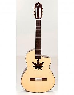 Guitarra clásica con cutaway Melendi