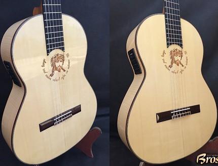Guitarra personalizada con tallado