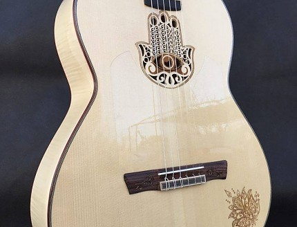 Guitarra personalizada con