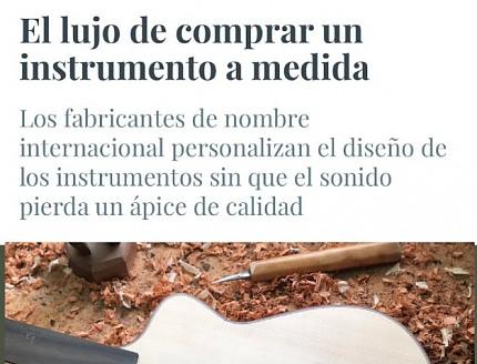 Guitarras Bros las guitarras mas cotizadas según el periodico ABC y su revista Summum