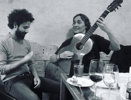 Vicente Amigo, guitarra Francisco Bros Mod.